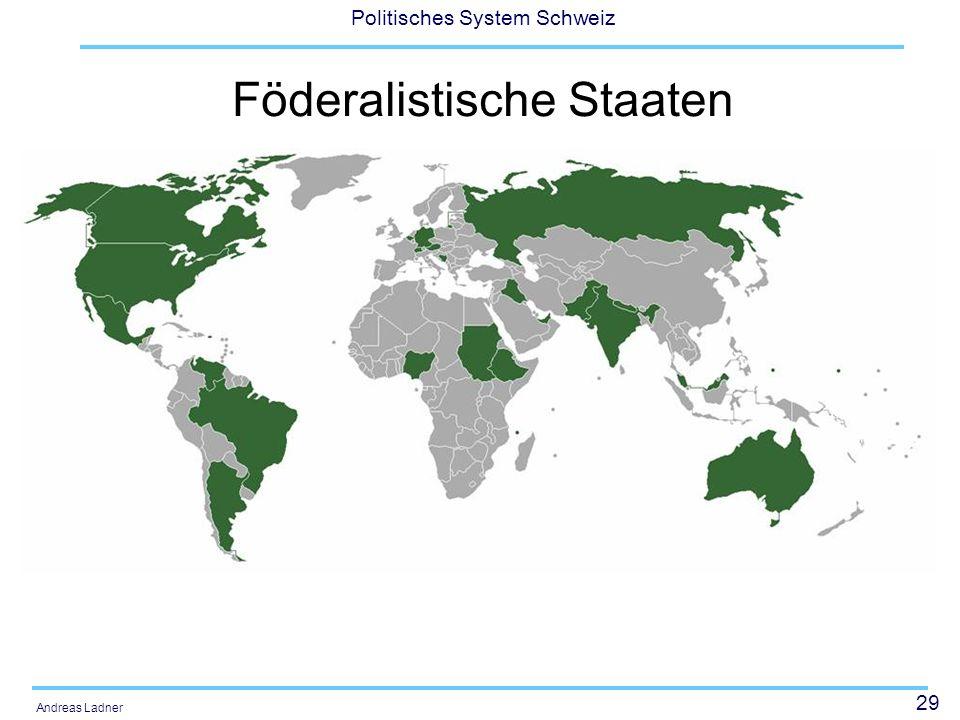Föderalistische Staaten