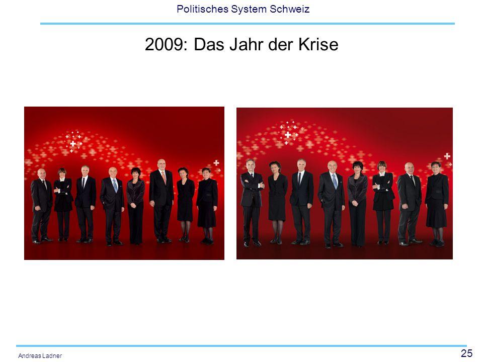 2009: Das Jahr der Krise