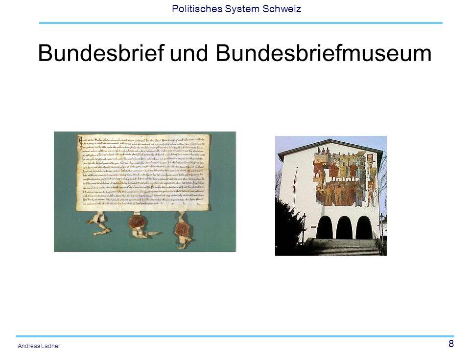 Bundesbrief und Bundesbriefmuseum