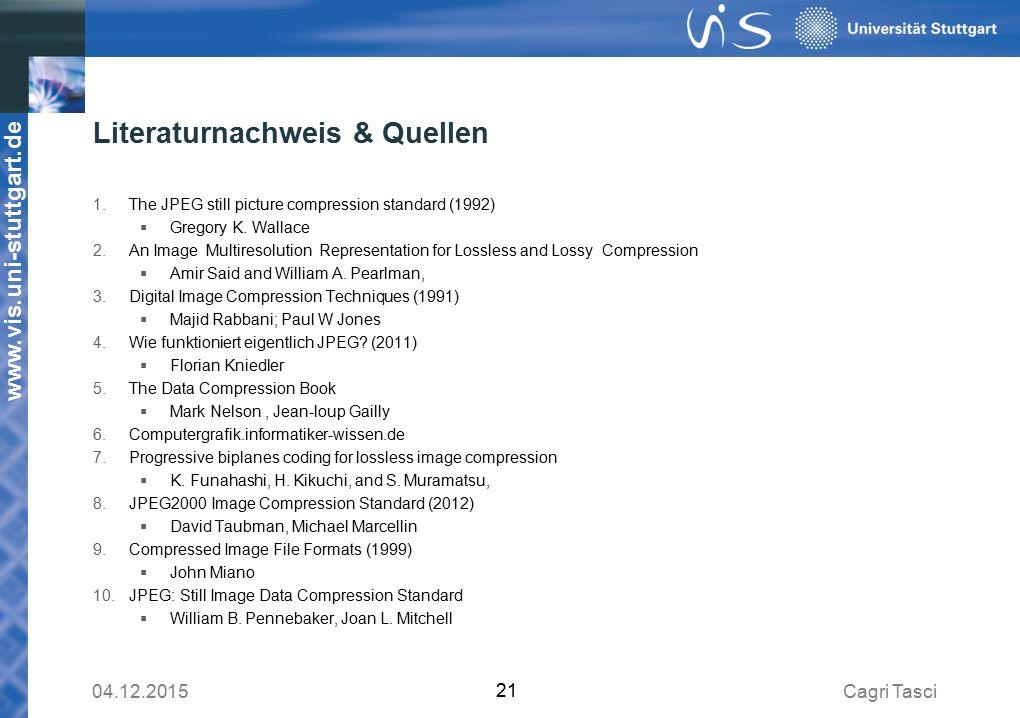 Literaturnachweis & Quellen