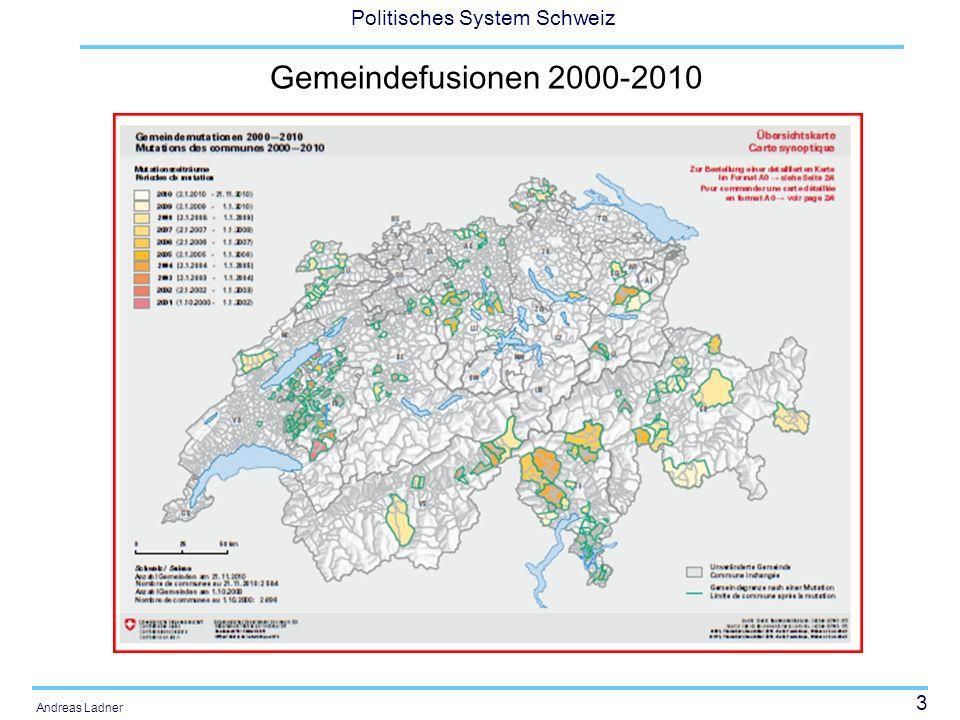 Gemeindefusionen 2000-2010