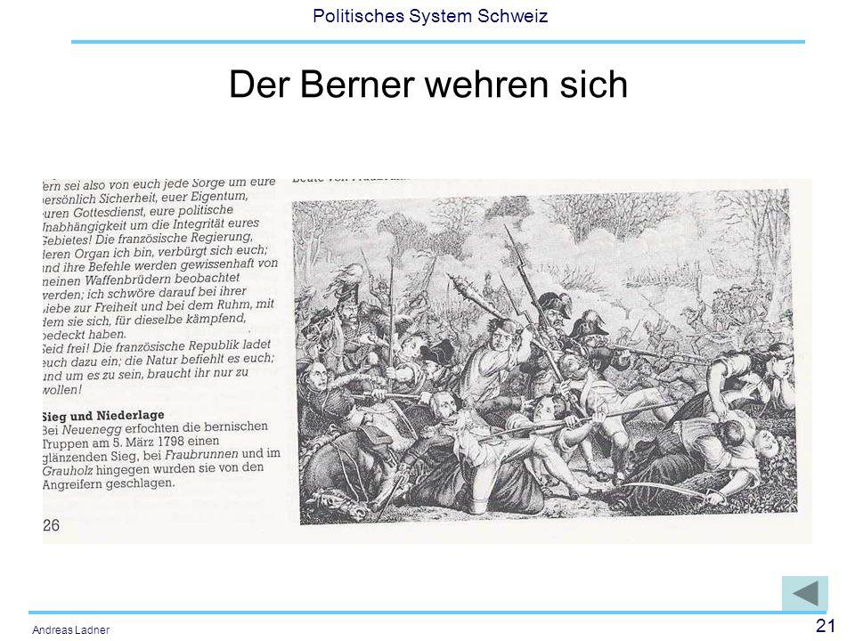 Der Berner wehren sich