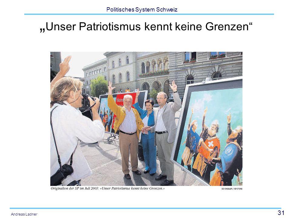 """""""Unser Patriotismus kennt keine Grenzen"""