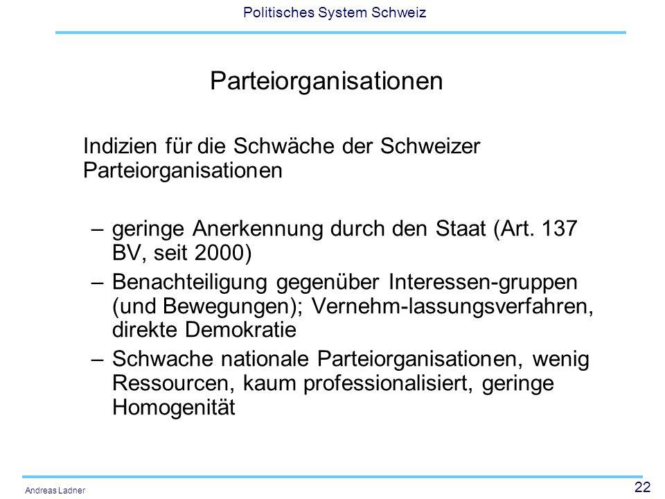 Parteiorganisationen