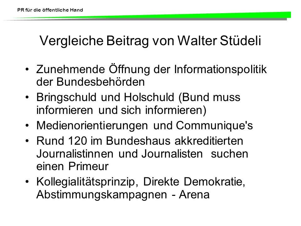 Vergleiche Beitrag von Walter Stüdeli