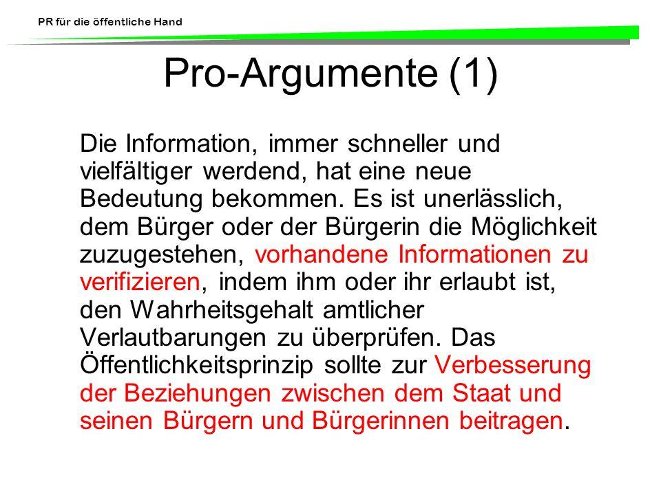 Pro-Argumente (1)