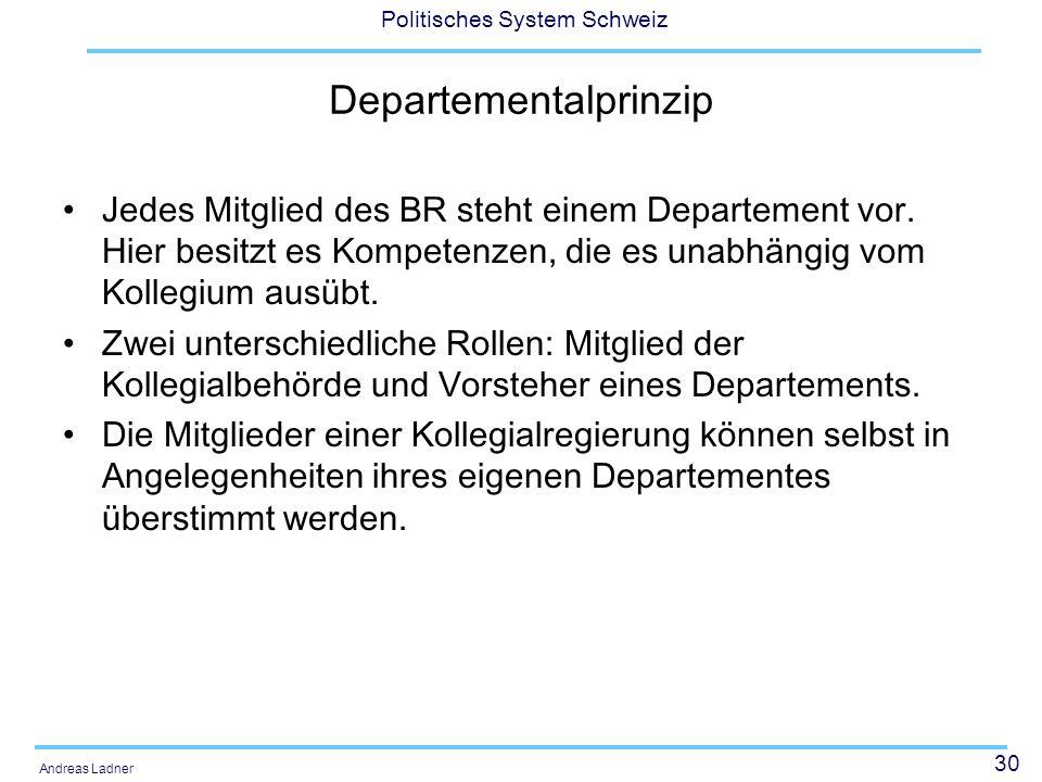 Departementalprinzip