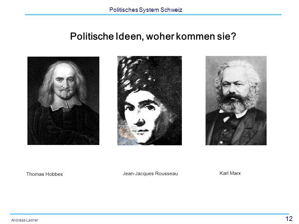 Politische Ideen, woher kommen sie