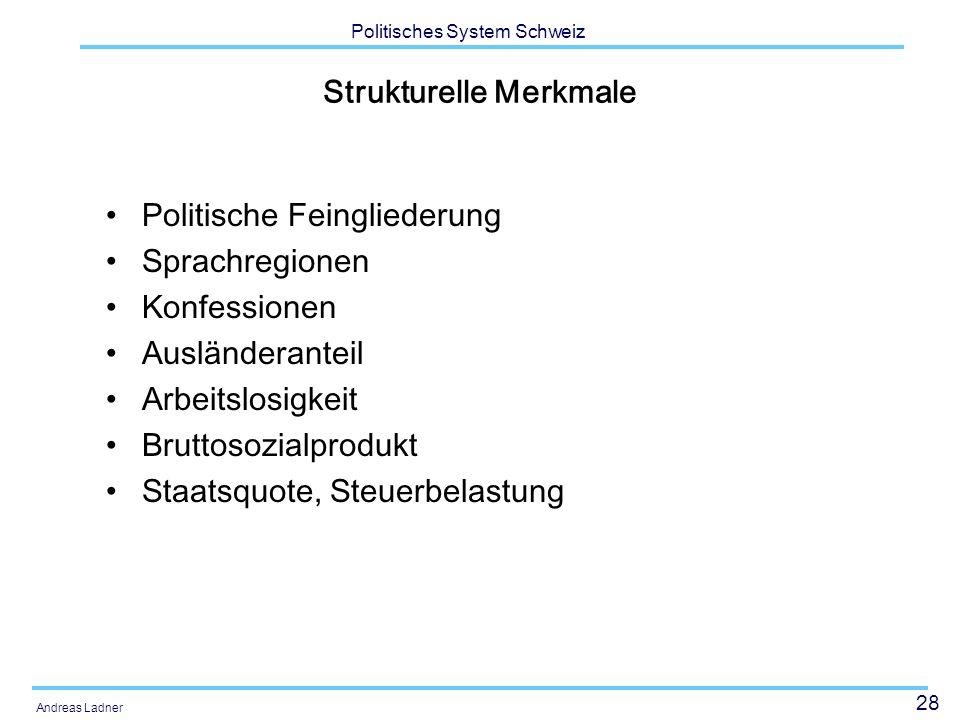 Strukturelle Merkmale