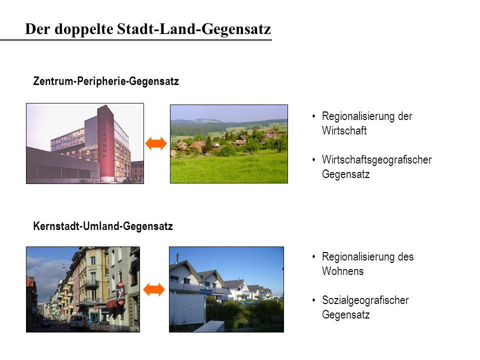 Der doppelte Stadt-Land-Gegensatz