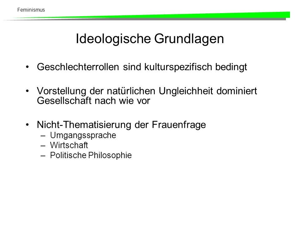Ideologische Grundlagen