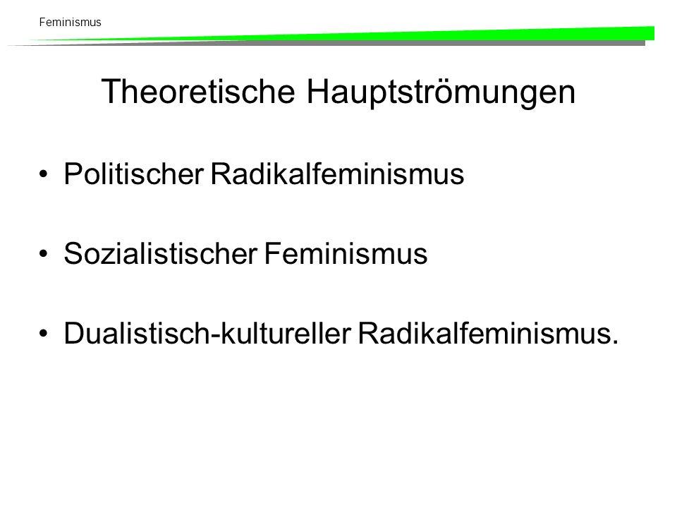 Theoretische Hauptströmungen