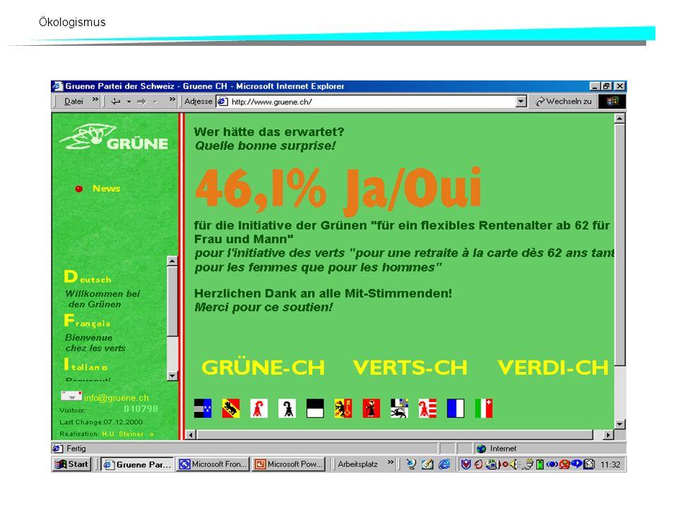 26. November 2000 Ist das eine grüne Vorlage