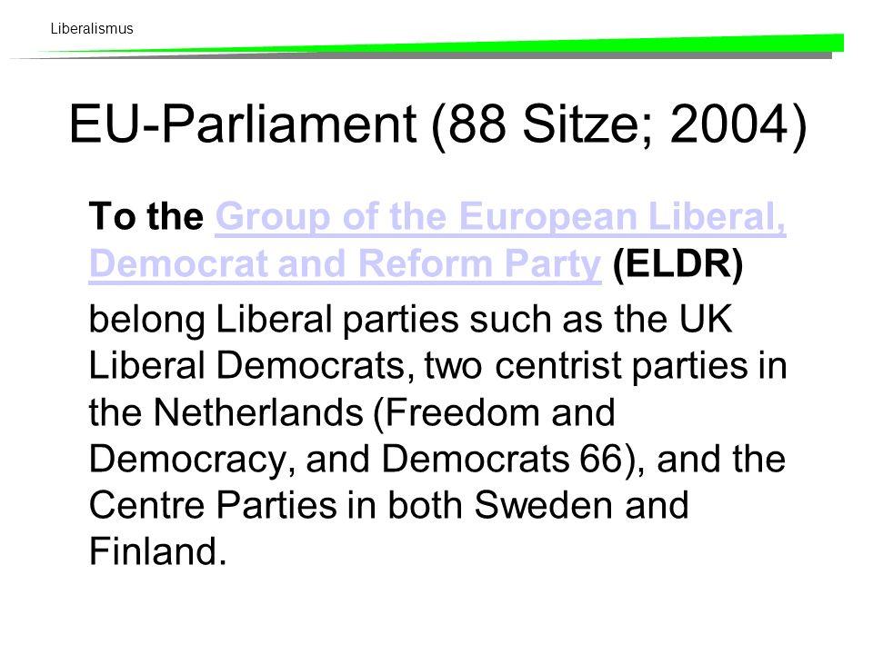EU-Parliament (88 Sitze; 2004)