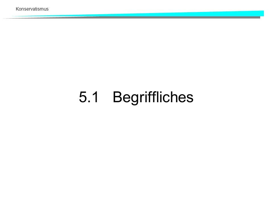 5.1 Begriffliches
