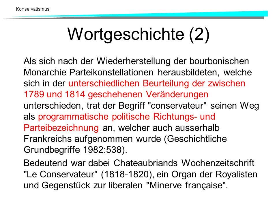 Wortgeschichte (2)