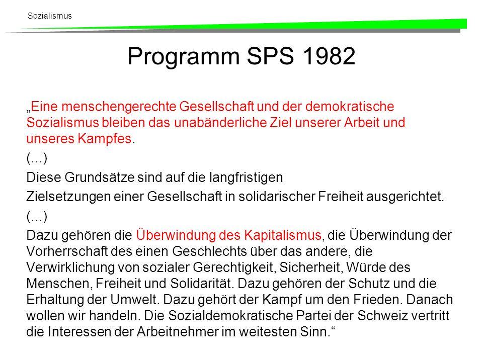 Programm SPS 1982