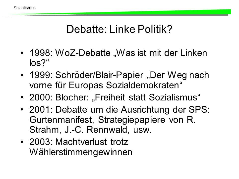 Debatte: Linke Politik