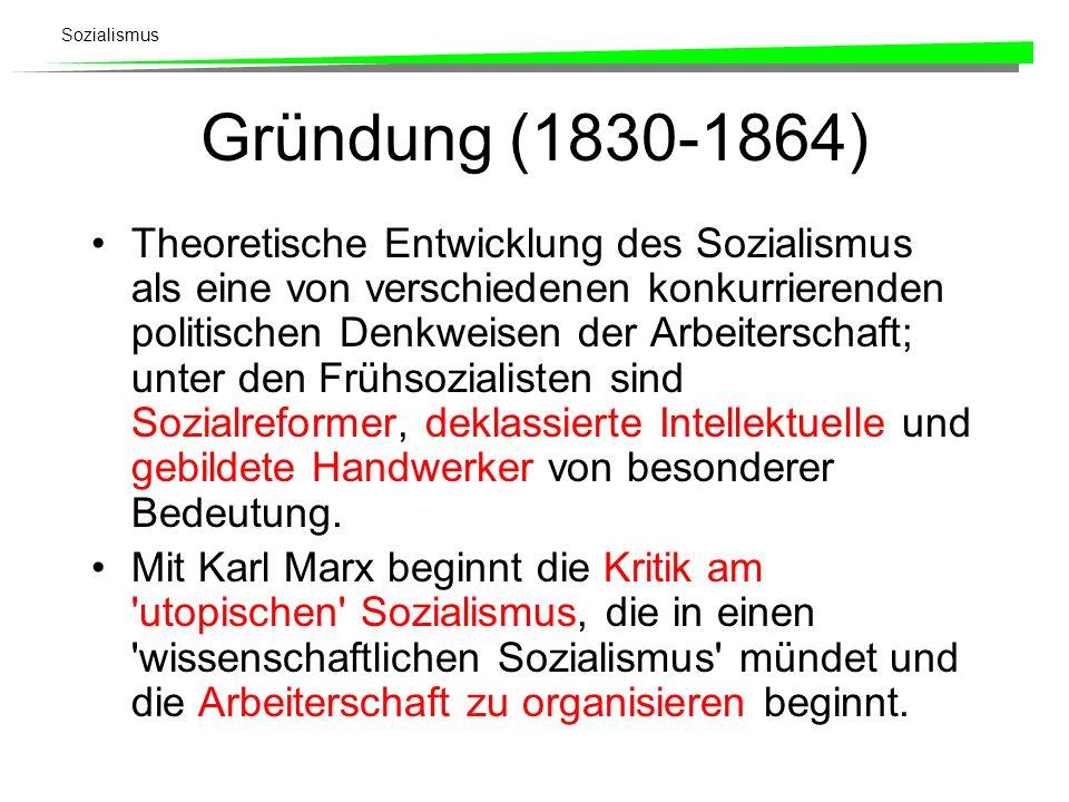 Gründung (1830-1864)
