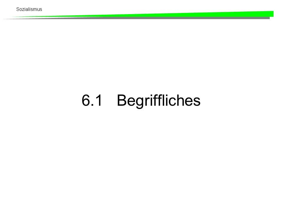 6.1 Begriffliches