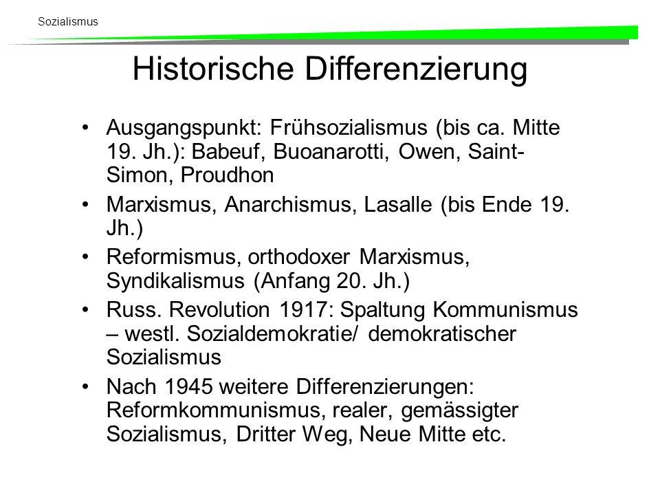 Historische Differenzierung