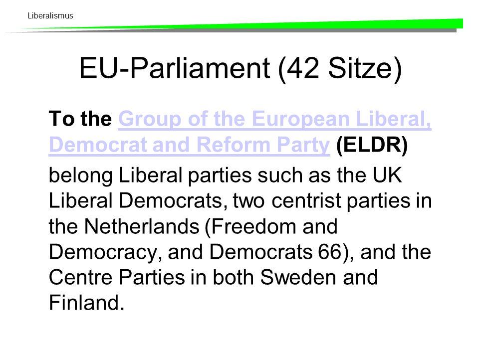 EU-Parliament (42 Sitze)
