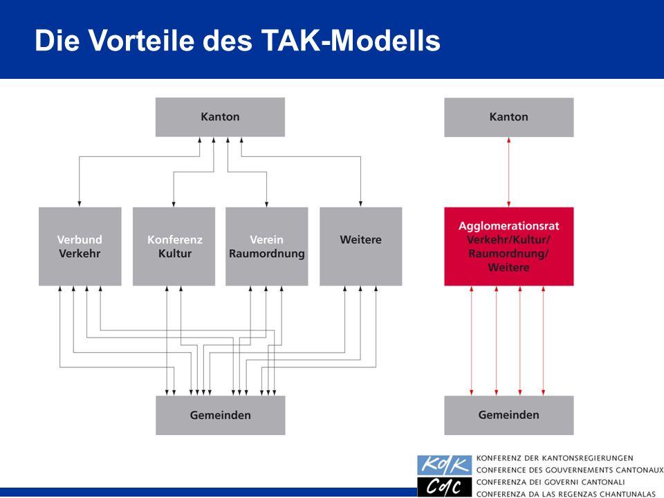 Die Vorteile des TAK-Modells
