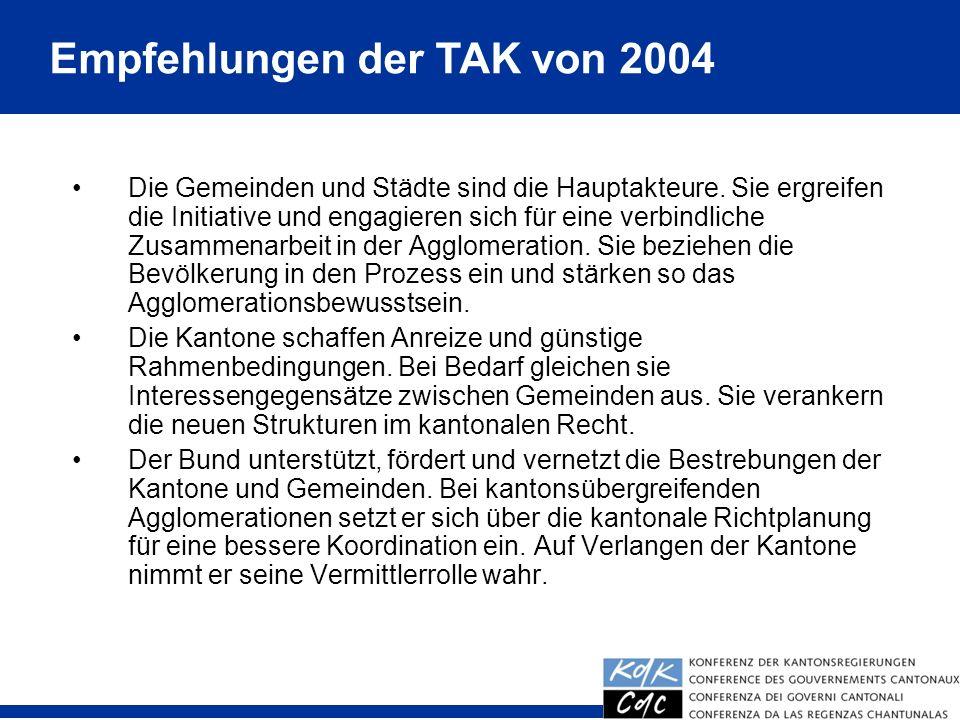 Empfehlungen der TAK von 2004