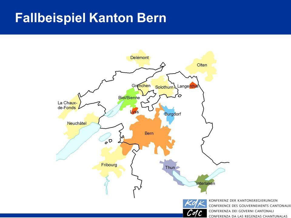 Fallbeispiel Kanton Bern