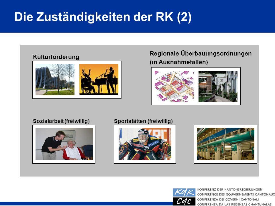 Die Zuständigkeiten der RK (2)