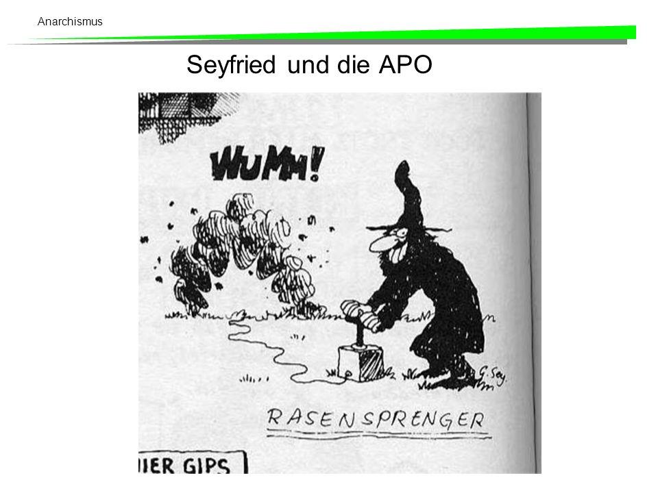 Seyfried und die APO