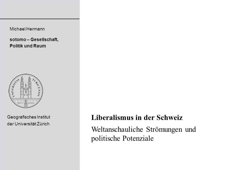 Liberalismus in der Schweiz