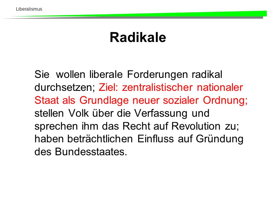Radikale