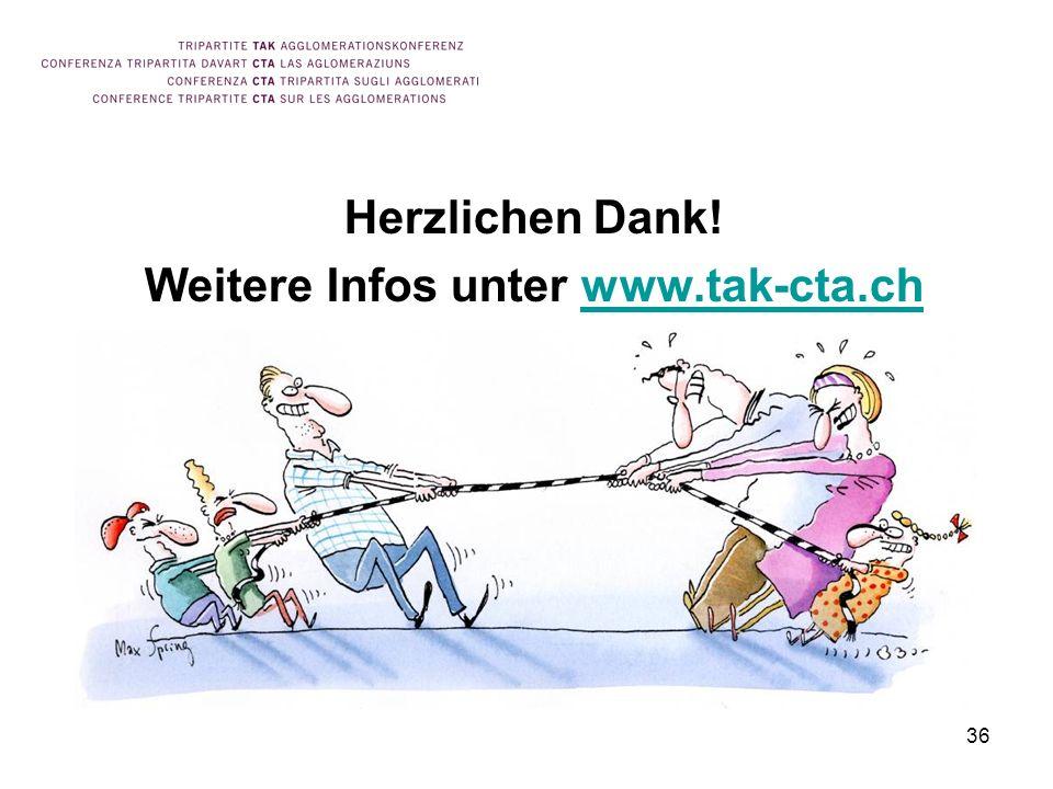 Weitere Infos unter www.tak-cta.ch