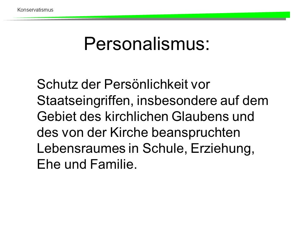 Personalismus: