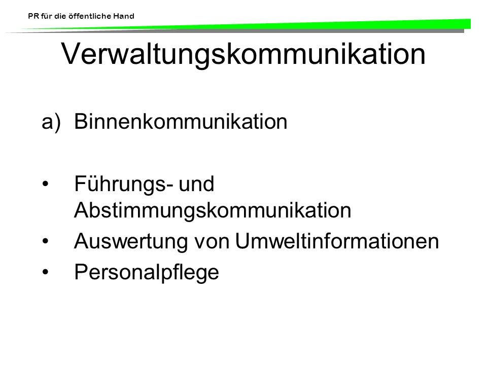 Verwaltungskommunikation