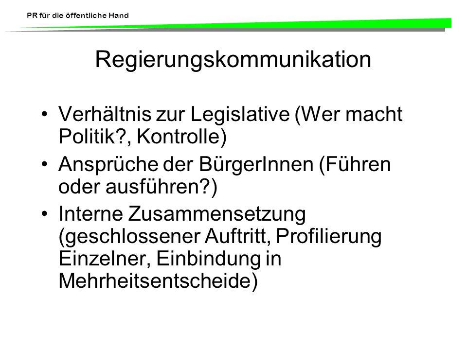 Regierungskommunikation