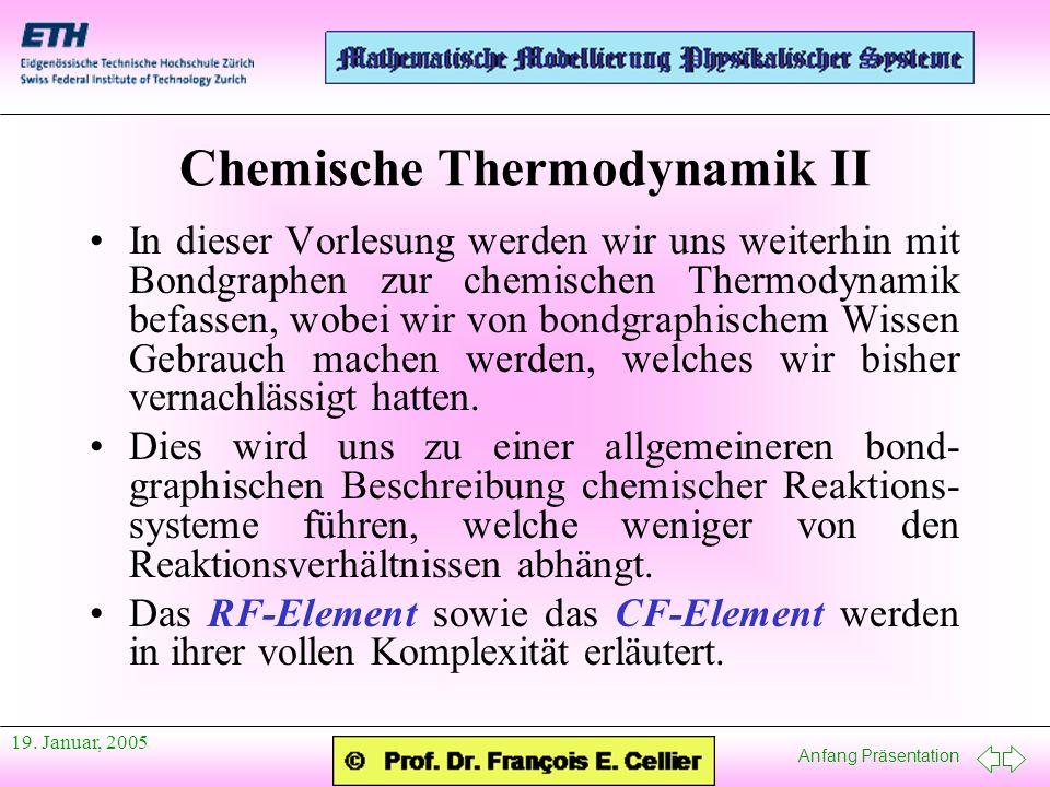 Chemische Thermodynamik II