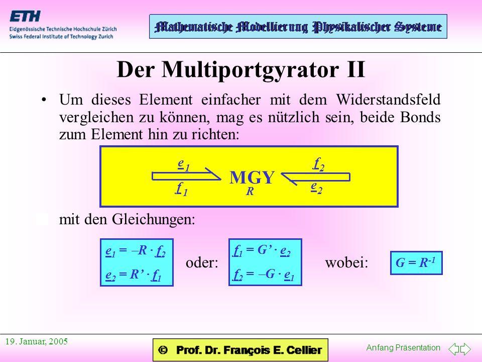 Der Multiportgyrator II