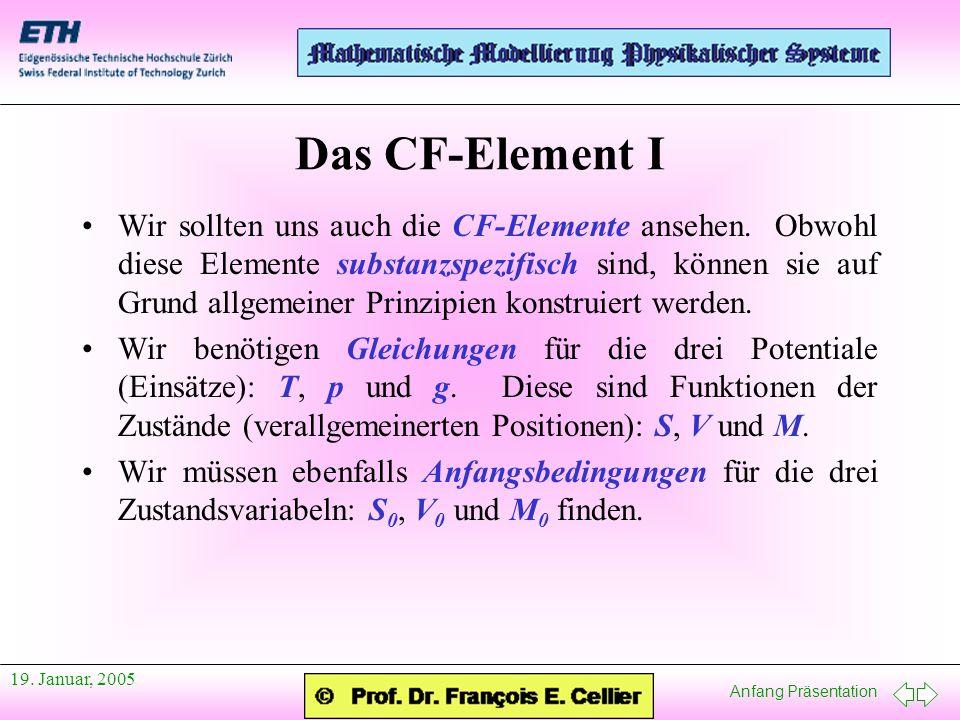 Das CF-Element I