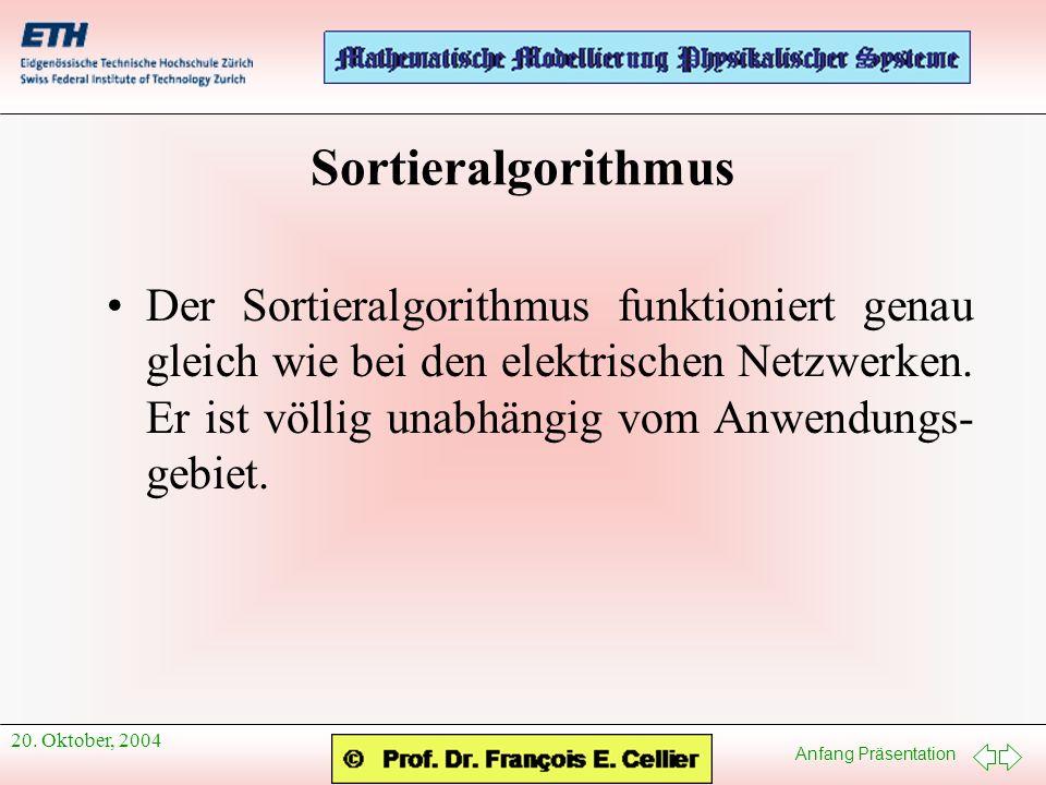 Sortieralgorithmus