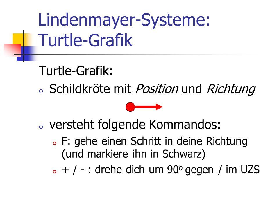 Lindenmayer-Systeme: Turtle-Grafik