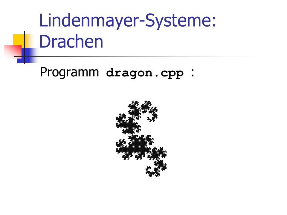 Lindenmayer-Systeme: Drachen