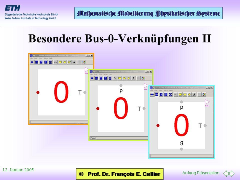 Besondere Bus-0-Verknüpfungen II