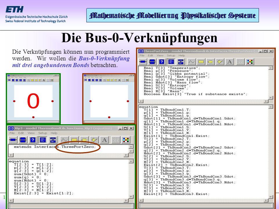 Die Bus-0-Verknüpfungen