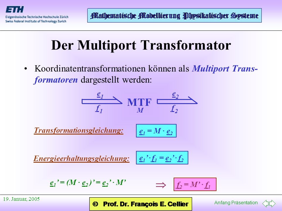 Der Multiport Transformator
