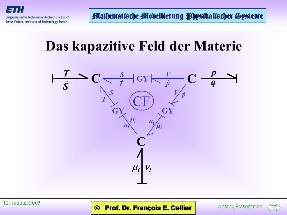 Das kapazitive Feld der Materie