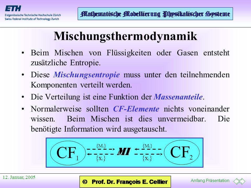 Mischungsthermodynamik