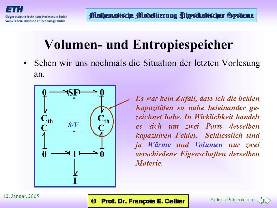 Volumen- und Entropiespeicher