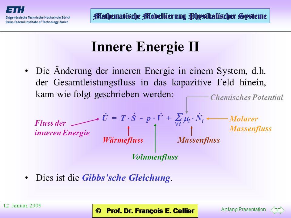 Innere Energie II